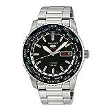 Seiko Herren-Armbanduhr XL Analog  Automatik Edelstahl SRP127K1