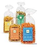 Clever Pasta 4er Probierpaket: Bärlauch-, Kichererbsen-, Erbsen- & Linsennudeln