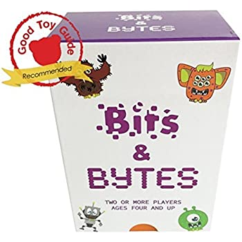Bits & Bytes, il gioco di codifica per bambini | L'innovativo gioco di carte e il giocattolo STEM che insegna ai bambini le basi della codifica dei computer ● Età 4-9