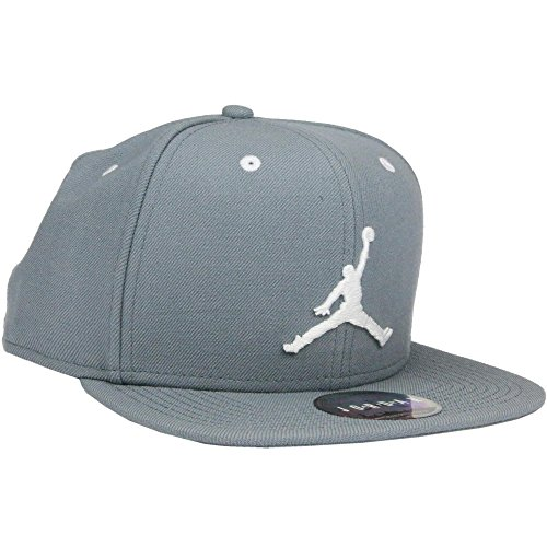 Nike JORDAN JUMPMAN SNAPBACK - Berretto, Grigio - One size, Unisex