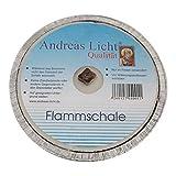 JEKA Kerzen GmbH Partylicht/Flammschale in Assiette Größe ca. D160xH25 mm Andreas Licht