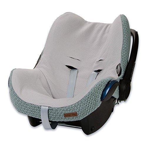 Preisvergleich Produktbild Baby's Only 165510 Bezug für Babyschale 0+ Robust Stone Green