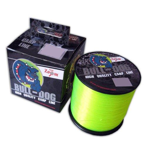 Carp Zoom Bull-Dog Carp Line 0,28 mm 10,75 Kg 1000m Fluo Gelb Schnur