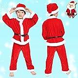 Imported Soft Velvet Santa Costume (2-4 Years) Christmas Dress (Belt Not Included) Santa Claus Dress For Kids For Christmas | Holiday Costume | X-mas Costume | Nativity Costume