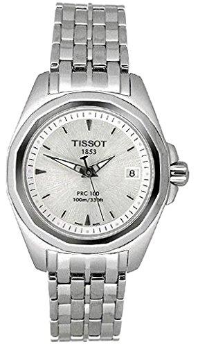 Tissot GENEROSI-T T0080101103100 – Reloj de mujer de cuarzo, correa de acero inoxidable color gris