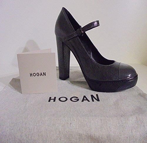Hogan  HOGAN, Escarpins pour femme gris gris ITA - 37,5 DONNA Grigio piombo