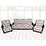 DEWBERRIES Net Fabric Sofa Cover 10 Pieces Set