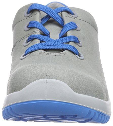 Abeba Sicherheitsschuhe uni6 1782 Halbschuh   S2 küchengeeignet Stahlkappe, Chaussures de sécurité mixte adulte gris/bleu