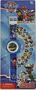 PAW PATROL Projecting LED Digital Watch - 24 Images Marshall, Chase & Pup Pals Christmas or Birthday Gift
