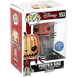 Funko - Figurine NBX - Jack Pumpkin King Glow in the Dark Exclu Pop 10cm - 0849803067243