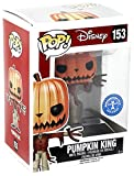 Funko - Figurine NBX - Jack Pumpkin King Glow in the Dark Exclu Pop 10cm - 0849803067243
