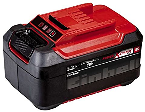 Einhell system power X-change (lithium Ion rechargeable battery, suitable for all power X-change devices), black, red, 4511437 0 wattsW, 18