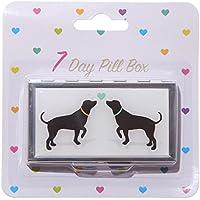 Attraktiv Rosen Deign Metal Pill Box–7Day by Fish Around preisvergleich bei billige-tabletten.eu