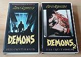 "Demons 1&2 Full Uncut Version ""VHS"""
