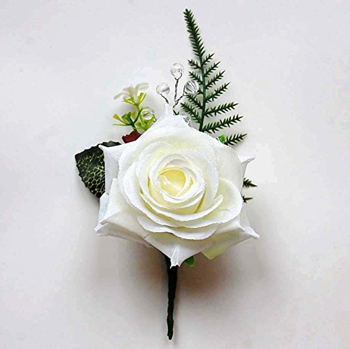 celia-fern-rose-boutonniere-buttonhole-corsage-clear-crystal-beads-wedding-flowers-groom-best-man-mo