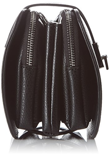 ESPRIT Damen 037ea1o002 Schultertasche, 10x14.8x21.5 cm 001 Black