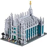 """BRIXIES Modellino da costruire, """"Duomo di Milano""""(Multicolore)"""