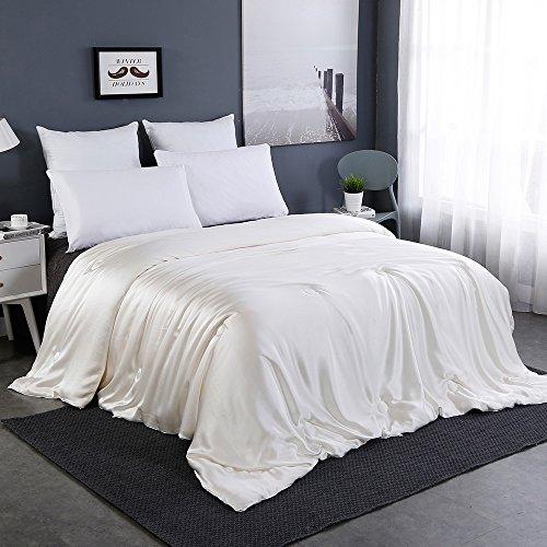 Lilysilk 4 Jahreszeit Seide Bettdecke Steppdecke mit Seide Hülle - 200x220cm