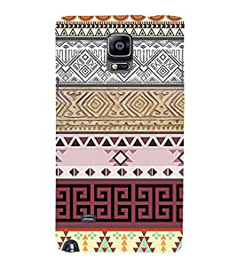 Ebby Printed back cover for Samsung Note 4(Premium Designer case)