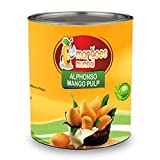 #2: Organic Ratnagiri Alphonso Mango Pulp (100% Natural)