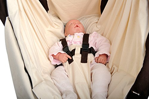 AMAZONAS Baby Hängematte Kangoo 70cm x 40cm bis 15 kg in Weiß - 14