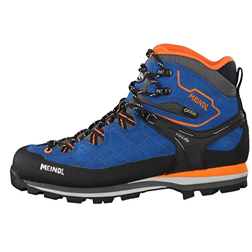 Meindl Herren Litepeak GTX Trekking-& Wanderstiefel, Blau Blau (Blau/Orange 09)