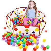 Transer® Spielzeug für kids- Pop Up Play Pool Zelt Tote Meer Bälle–Baby Kinder Spiel Spielzeug FUNNY Ball - preisvergleich