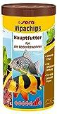 sera 00519 vipachips 1000 ml - Hauptfutter aus sinkenden Chips für alle Bodenbewohner im Aquarium