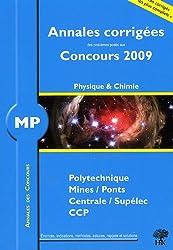 Annales des concours : Physique et chimie MP 2009