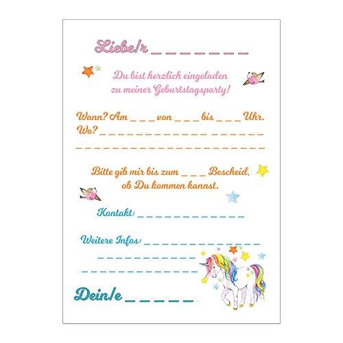 ... Geburtstagseinladungen Einladungen Geburtstag Kinder Mädchen. Bilder  Vergrößern