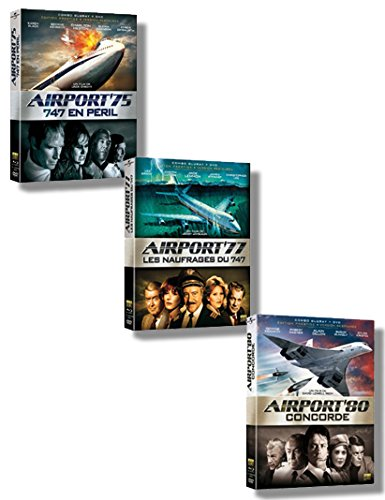 75 Combo Pack (PACK COMBO BLU-RAY + DVD AIRPORT 75,77,80)