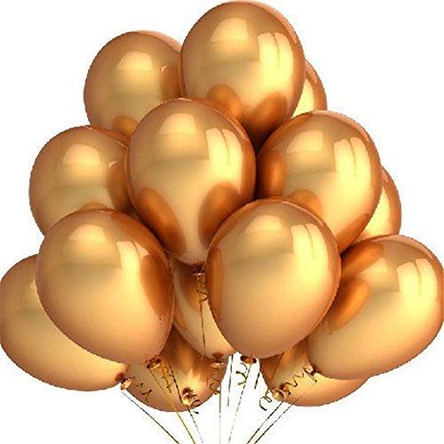 iShine 100pcs Globos Cumpleaños de Espesor para Fiesta Boda Navidad Reunión Ceremonia,10'