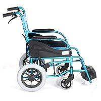 Manual de plegar ligeros multifuncional de niños en silla de ruedas, conveniente hijos ultraligero doblar