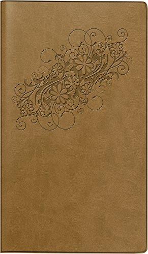 Preisvergleich Produktbild BRUNNEN Taschenkalender Modell 756 Daisy, 2 Seiten = 1 Woche, 87 x 153 mm, Kunstleder-Ei, Kalendarium 2016 (107563570)