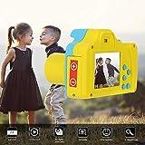 Gaddrt Digitalkamera 2.4HD Bildschirm Digitalkamera 16MP Anti-Shake Gesichtserkennung Camcorder Blank (Blau)