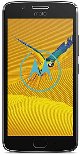 moto g5 Smartphone (12,7 cm (5 Zoll), 3GB RAM/16GB, Android) Lunar-Grau [Exklusiv bei Amazon]