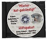 Mieter-hat-gekündigt-Hilfspaket - Neu! 12 Mustertexte + Video-Anleitung auf CD/DVD - Komplettlösung für die erfolgreiche Abwicklung eines vom Mieter gekündigten Mietverhältnisses