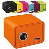 MySafe Tresor Design Safe 250 x 350 x 280 mm (HxBxT) Zahlencode Schloss verschiedene Farben grün, lila, pink, blau/wei, Orange