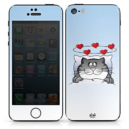 Apple iPhone SE Case Skin Sticker aus Vinyl-Folie Aufkleber Uli Stein Fanartikel Merchandise Cartoon DesignSkins® glänzend