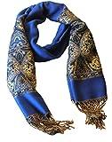 Züleyha Damenschal Halstuch Schal Umschlagtücher Schaltuch ca. 170x70 cm Orientalisches Design 2/2