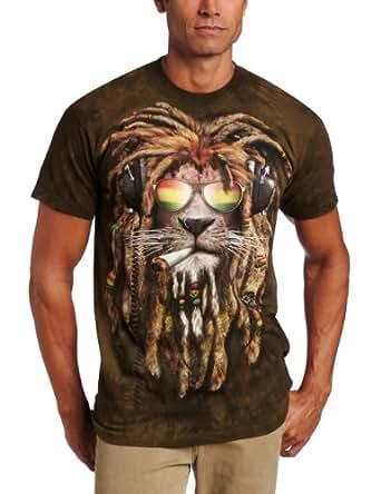 T-Shirt Smokin' Jahman grün | 3XL