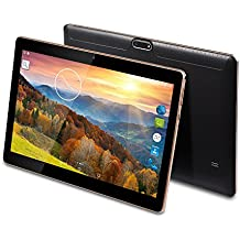 MaiTai 10Inch Tablet PC Android 7.01280* 800IPS Tablet PC Quad Core RAM 2GB ROM 16GB 3G Dual SIM Card Phone Call GPS Bluetooth 7910.6Black