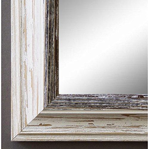 4 edle Flügel Shabby Chic Landhaus Keramik beige braun zum Hängen Dekoration