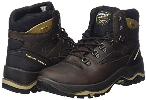 Grisport Men's Quatro Hiking Boot Brown CMG614 UK 9 / EU 43