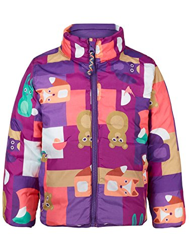 Kinder Snowboard Jacke Burton Mini Flex Puffy Jacket Girls (Mädchen Mini Burton)