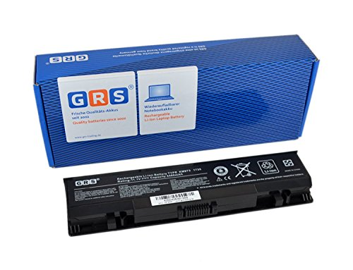 GRS Notebook Akku für DELL Studio 1745, 1749, 17, 1747, ersetzt: U164P, OW077P, 312-0186, 312-0196, A3582354, A3582355, M905P, M905P, M909P, N855P, N856P, U150P, W080P, Y067P, Laptop Batterie 4400mAh, 11.1V