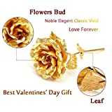 #10: Odishabazaar Valentine Special Gold Rose In 24k Gold with Exclusive Gift Box
