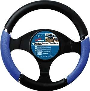 Sumex Speed PVC Steering Wheel Cover - Blue/ Black