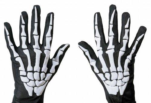 ett Handschuhe (Damen Skelett Kostüm Ideen)