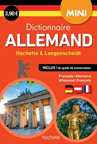 Mini Dictionnaire Hachette Langenscheidt - Bilingue Allemand par Collectif
